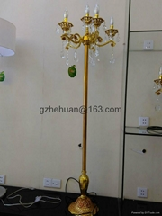 68850 series .Crystal Candle Chandelier(zinc alloy)