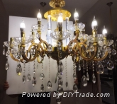 68853 series .Crystal Candle Chandelier(zinc alloy)