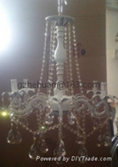68862 series .Crystal Candle Chandelier(zinc alloy)