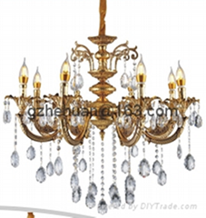 68830 series.Crystal Candle Chandelier(zinc alloy)