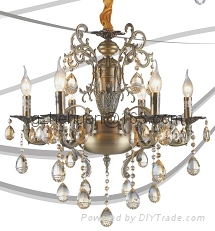 68841 series.Crystal Candle  Chandelier(zinc alloy)