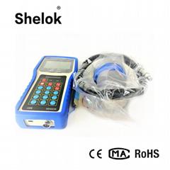 Portable ultrasonic fuel water level sensor meter