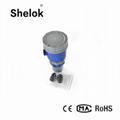 4-20mA ultrasonic liquid level meter transmitter 2
