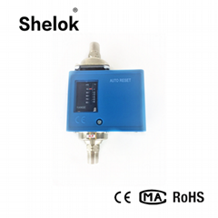 Micro sensitive control differential pressure switch