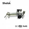 Hand hold pump hydraulic pressure