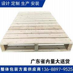 東莞志鉅工廠大量燻蒸木托盤現貨批發