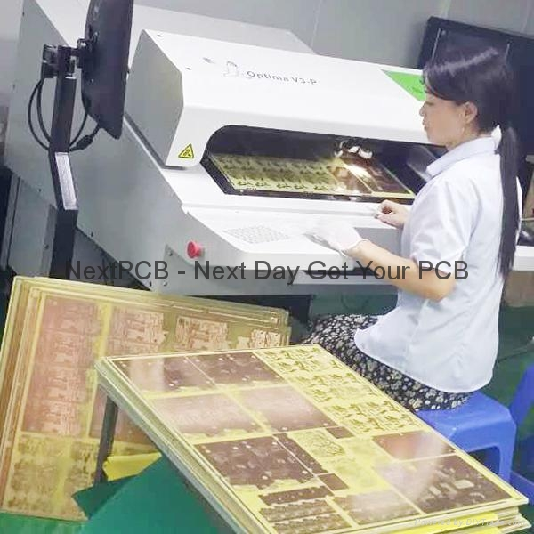 8 Layers 1-stage HDI Laser Blind Holes Board $ 350.0 (10 pcs) 5