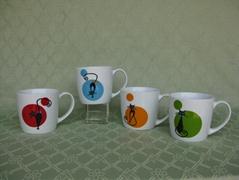 E  es Cat China mug