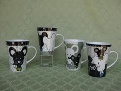 White And Black Cat Ceramic Coffee Mug
