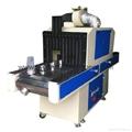 Bottle UV conveyor dryer for UV ink
