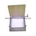 Mini UV exposure machine for pad plate