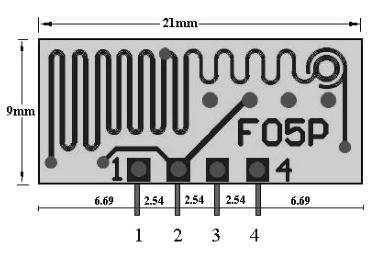 低功耗無線模塊無線發射模 F05P 5