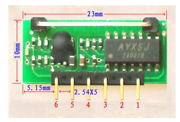 低功耗超再生接收无线模块J04U 3
