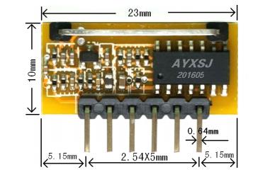 低功耗超再生接收无线模块J04U 4