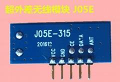 低功耗超外差無線接收模塊J05E
