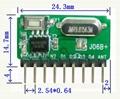 带解码无线模块低功耗超外差模块 J06B+ 5
