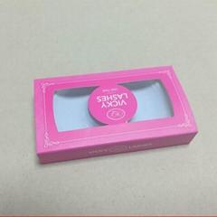 amazing eyelashes packaging box with logo