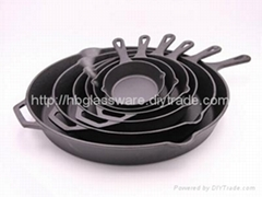Cast Iron Preseasoned Fry Pan