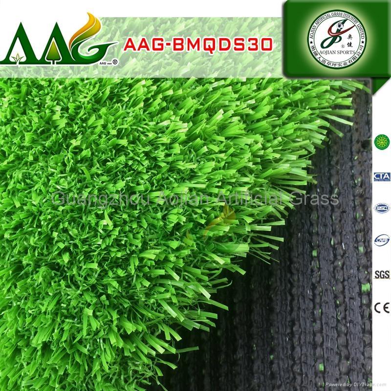 廣州 專業免填充足球人造草坪 4