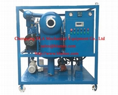 Double vacuum transformer oil purifier oil cleaner oil filtration oil purificati