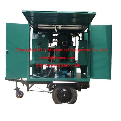 Mobile type Transformer oil purifier oil cleaner oil filtration oil purification 1