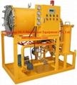 Coalescence-separation fuel diesel oil