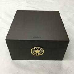 Wooden watch storage case box from