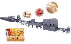 賽恆全自動威化餅乾生產線