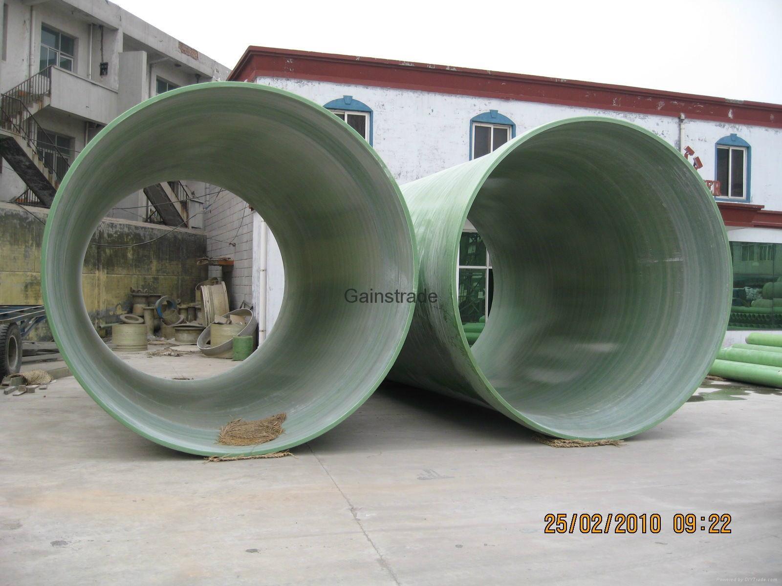 玻璃鋼(夾砂)管道 1