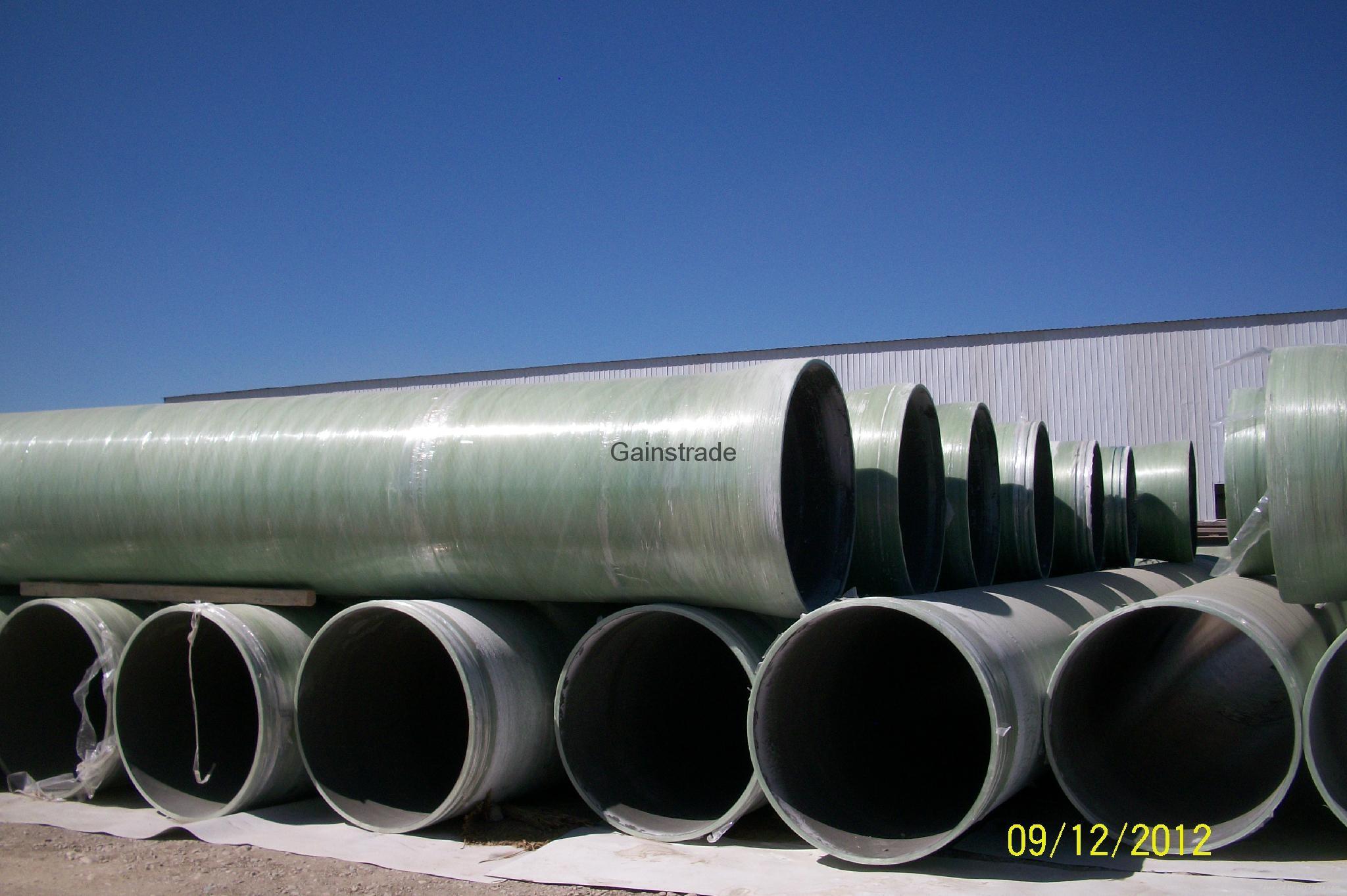 玻璃鋼(夾砂)管道 2