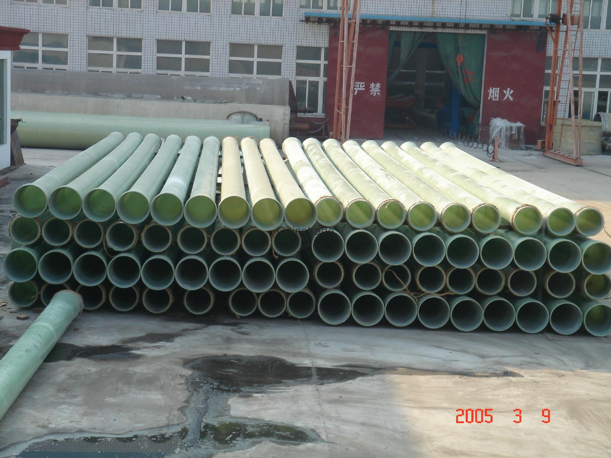 FRP/GRP filament winding pipe 5