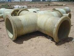 GRP flange nozzle