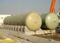 horizontal FRPGRP tank