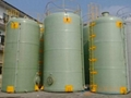 FRPGRP tank for HCL storage 1