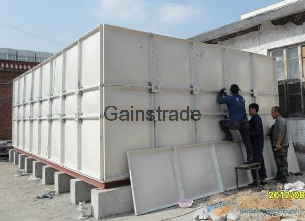 GRP SMC water panel tank