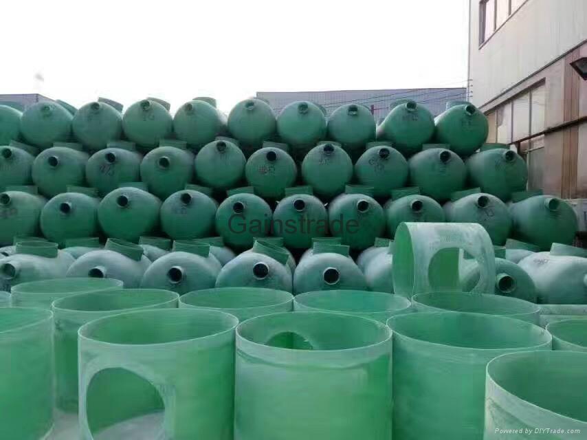 GRP 20m3 septic tank 1