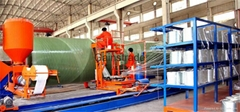 FRP/GRP pipe  filament winding machine