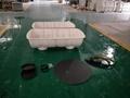 0.5m3-100m3 FRP SMC septic tank for