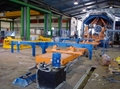 FRP/GRP pipe continuous filament machine