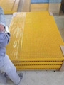 FRP/GRP grating with cover