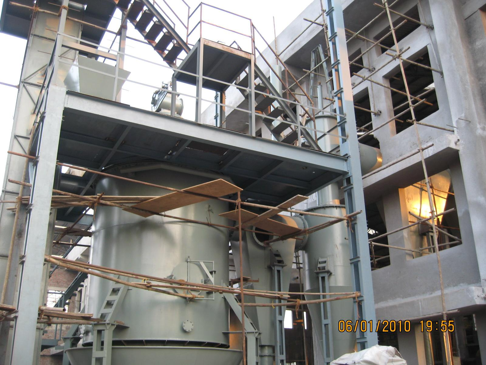 50% SOP making equipments with MOP and 98% H2SO4 12