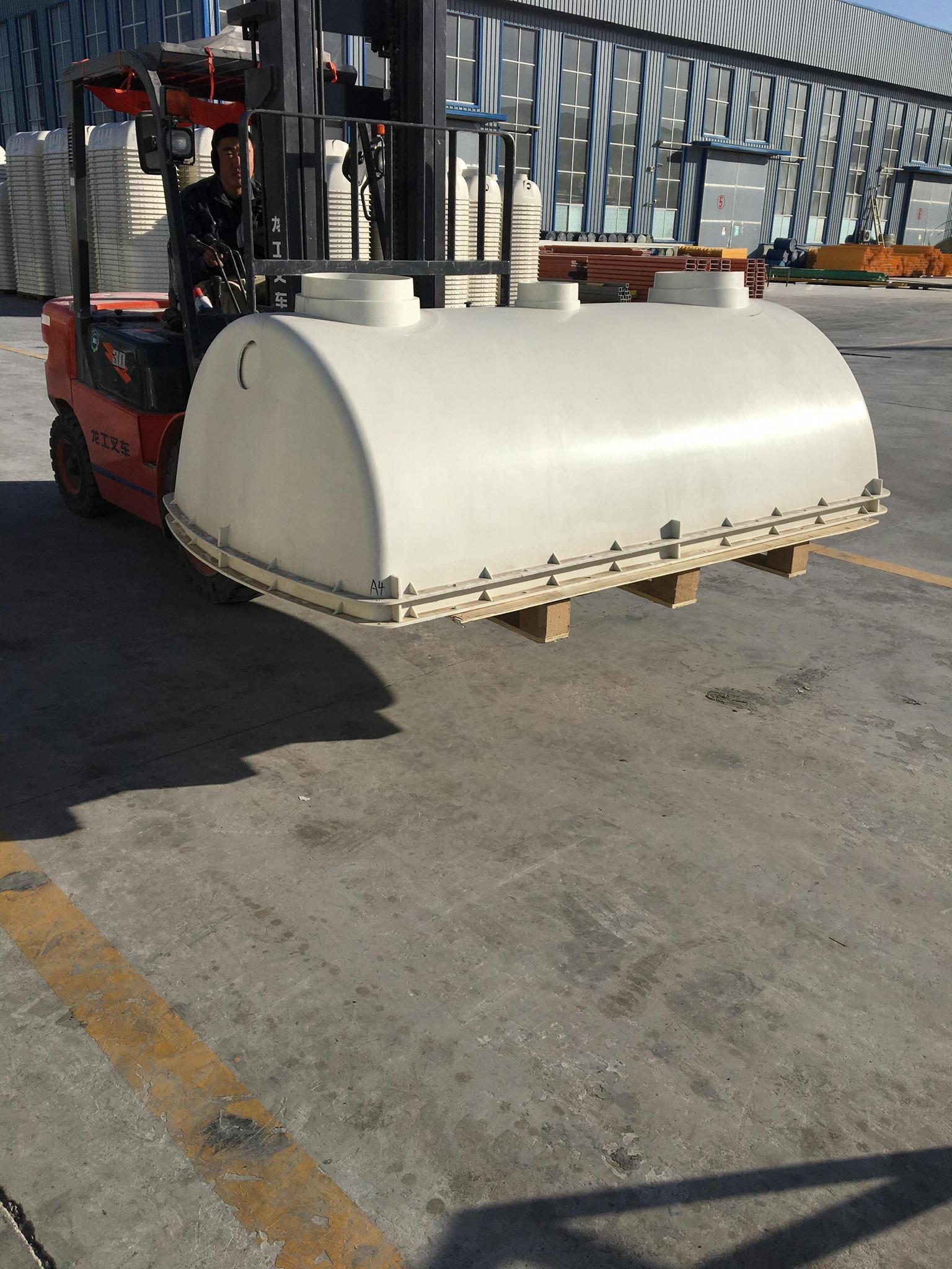 FRP septic tank 2
