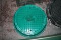 FRP molded manhole cover