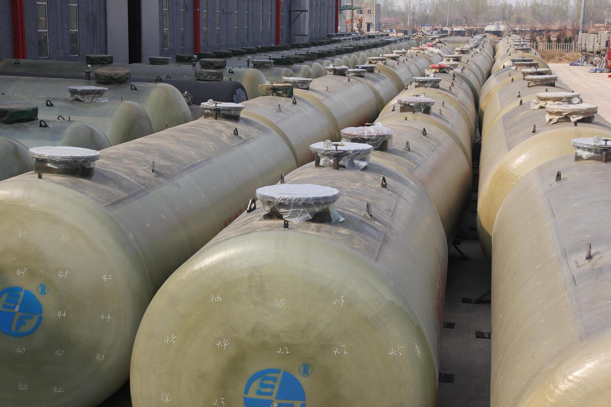 S/F dual-layer underground petrol storage tank 16