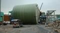 FRP/GRP tank filament winding machine