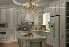 YALIG Solid Wood Kitchen Cabinets