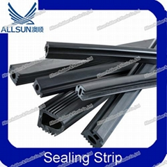 Rubber gasket for curtain wall