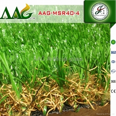 AAG Imported gardening green grass artificial for villa high end synthetic turf