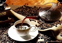 Charcoal roasted coffee