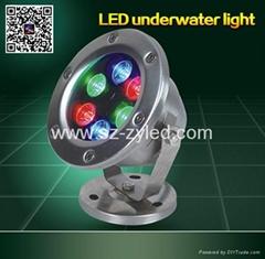 IP68 Underwater Light RGB 6w 9w 12w